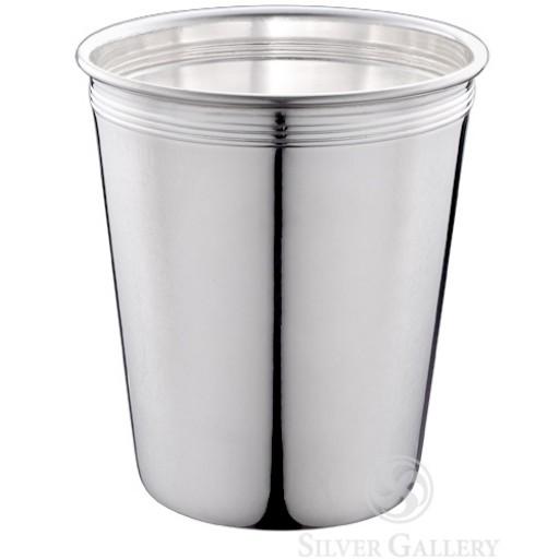 Plain Mint Julep Cup - Silverplate