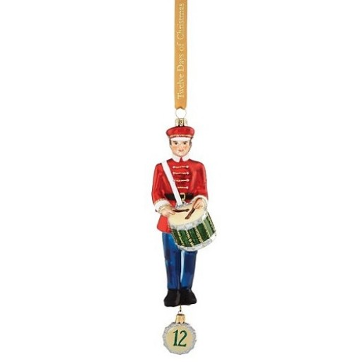 Reed & Barton 12 Drummers Drumming Ornament
