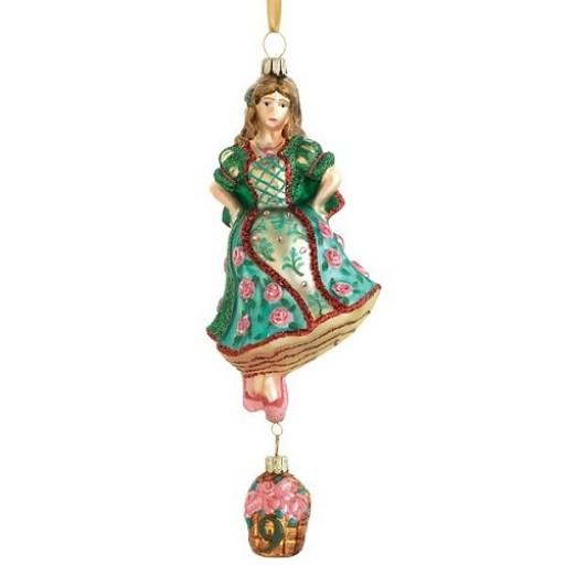 Reed & Barton Nine Ladies Dancing Ornament