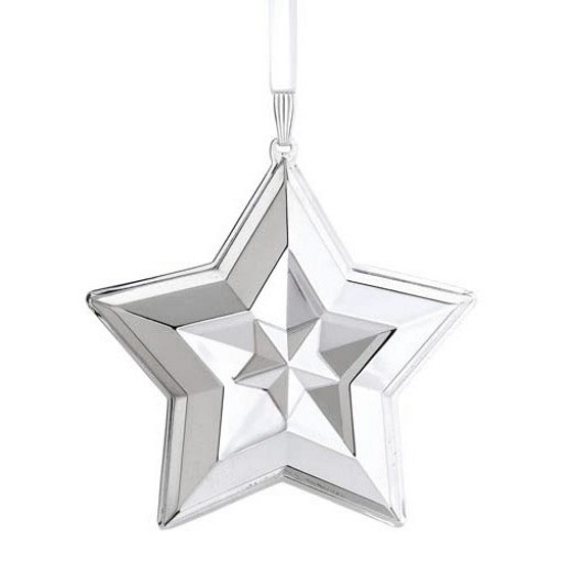 Lunt 2014 Sterling Silver Star Ornament
