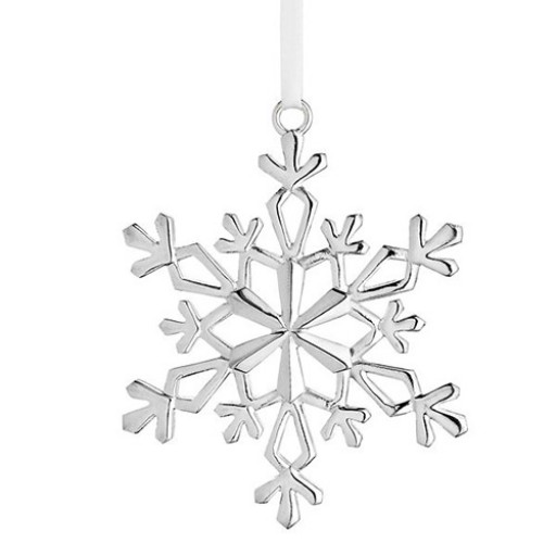 Lunt 2015 Annual Sterling Snowflake Ornament - 27th Edition - Available from SilverGallery.com