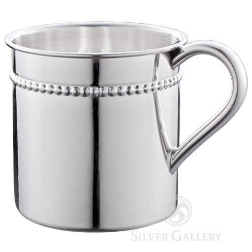 Reed and Barton Sterling Silver Beaded Child Cup