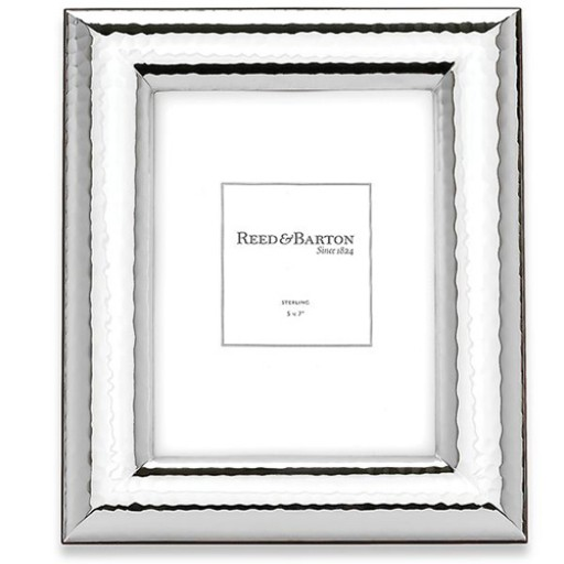 Reed & Barton Hayden Sterling Silver Frame - 5 x 7 - Available from SilverGallery.com