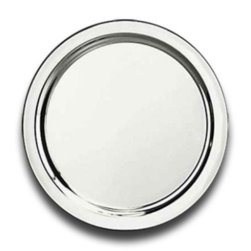 Reed and Barton Round Sterling Silver Tray - 12 Inch