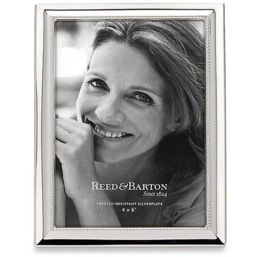 Reed & Barton Capri Silverplate Picture Frame - 4 x 6 - Available from SilverGallery.com