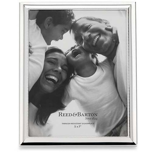 Reed & Barton Capri Silverplate Picture Frame - 5 x 7 - Available from SilverGallery.com