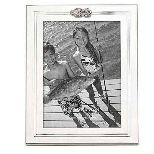 Reed & Barton Halston Picture Frame - 5 x 7 - Available from SilverGallery.com