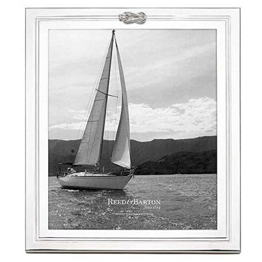 Reed & Barton Halston Picture Frame - 8 x 10 - Available from SilverGallery.com