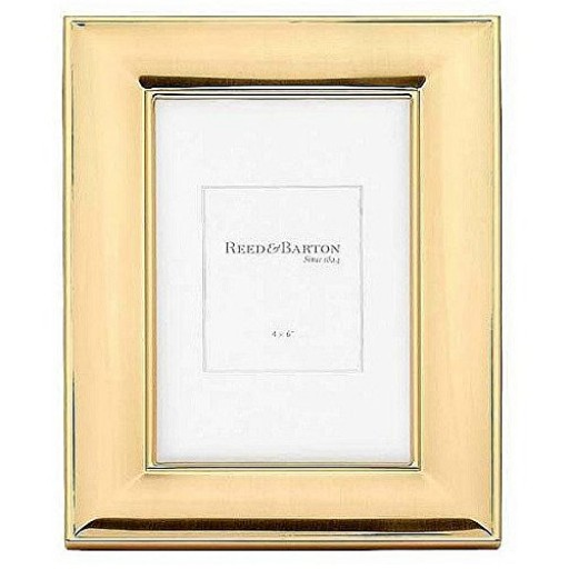 Reed & Barton Newton Gold Plated Picture Frame - 4 x 6