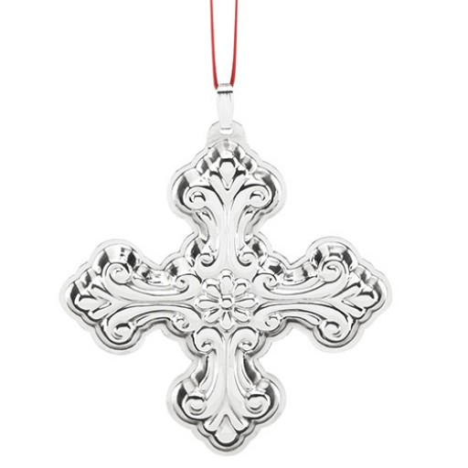 Reed & Barton Sterling Silver Christmas Cross Ornament 2016 - 46th Edition - Reed & Barton Sterling Silver Christmas Cross Ornament 2016 - 46th Ed