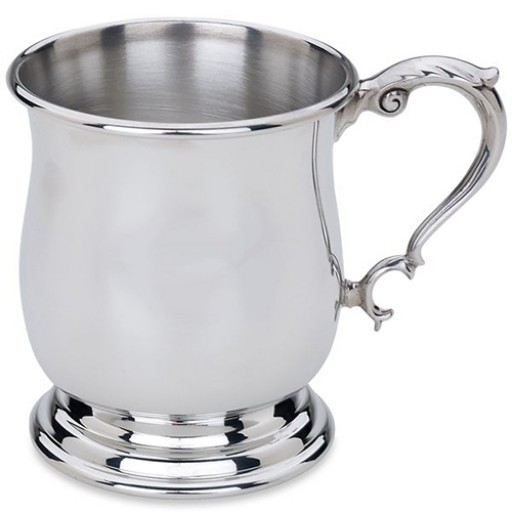 Lunt Pewter Tankard Baby Cup - Available from SilverGallery.com