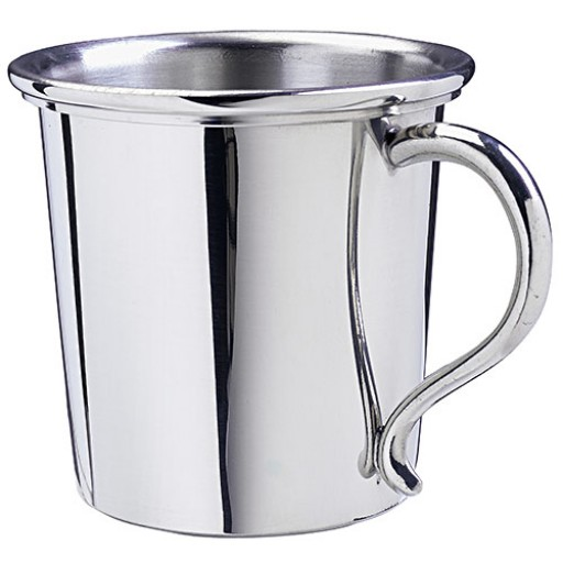Salisbury Kentucky Pewter Baby Cup 5 Oz Expertly Engraved