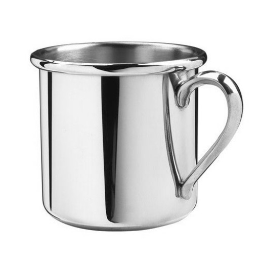 Salisbury Pewter Straight Edge Baby Cup