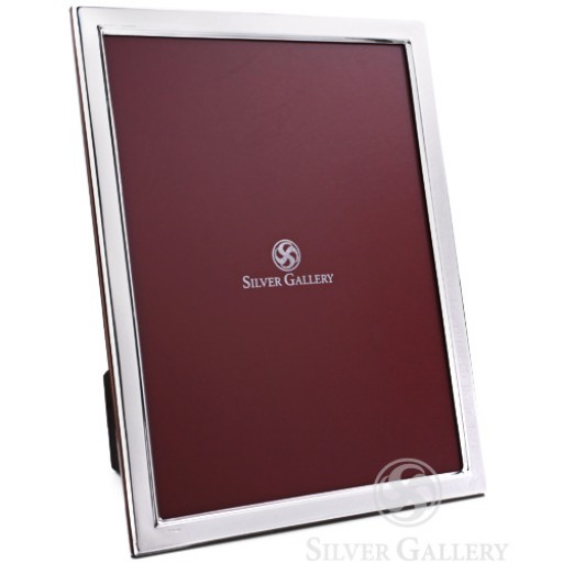 Sterling Silver Plain Frame 8 x 10