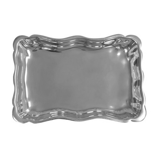 Salisbury Cast Aluminum Petite Chippendale Tray