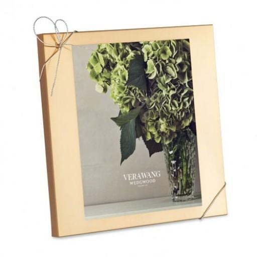 Vera Wang Love Knots Goldplated Frame - 8 x 10