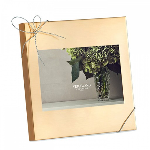 Vera Wang Love Knots Goldplated Frame - 4 x 6