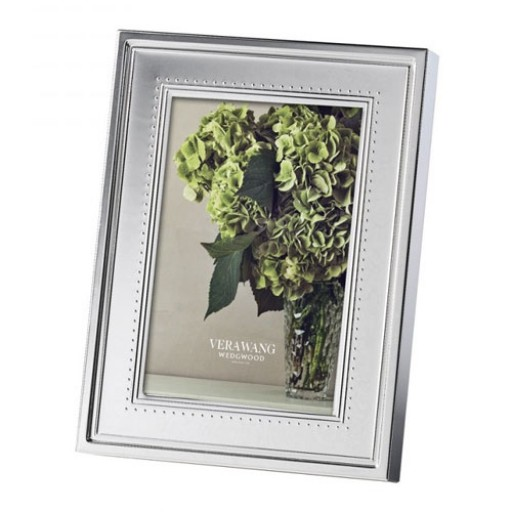 Vera Wang Grosgrain Picture Frame - 4 x 6