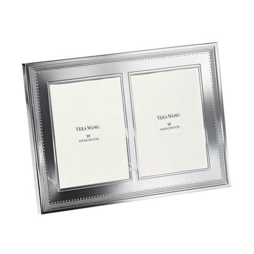 Vera Wang Grosgrain Double Invitation Frame - 5 x 7