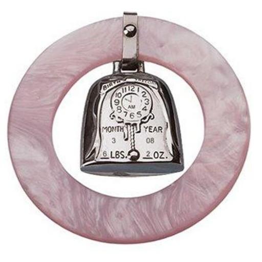 Salisbury Birth Record Teether Pink