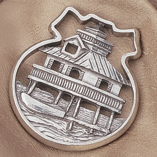 Salisbury Pewter Traditional Lighthouse Ornament