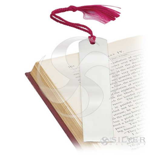 Empire Pewter Plain Bookmark with Tassel