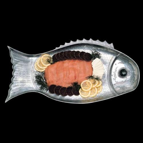 Arthur court fish platter large for Fish serving platter