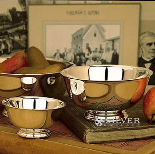 reed  u0026 barton silverplate engravable revere bowl