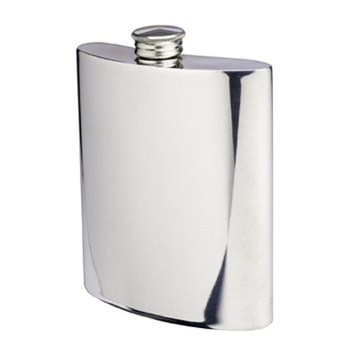 Classic Pewter Hip Flask