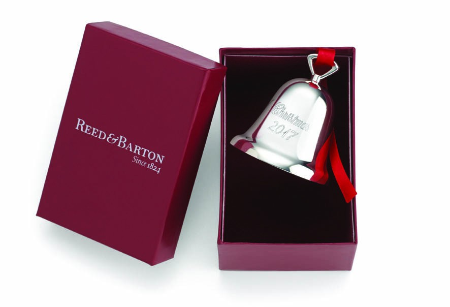 Reed Amp Barton 2018 Christmas Bell Ornament Silverplated