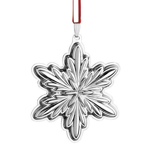 Reed Amp Barton Sterling Silver Holiday Snowflake Ornament