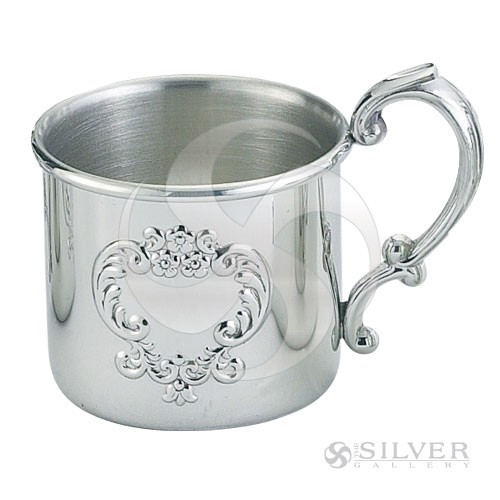 Empire Pewter Scroll Baby Cup