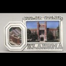 University of Oklahoma Double Picture Frame