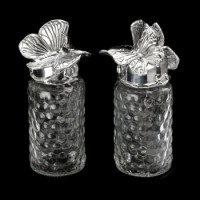 Arthur Court Butterfly Salt & Pepper Set
