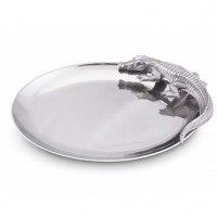 Arthur Court Alligator Oval Platter