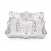 Arthur Court Scallop Chip and Dip Tray