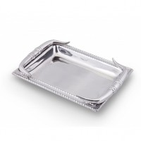 Arthur Court Texas Longhorn Engravable Catch-All Tray