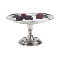 Match Pewter Pedestal Tray - Small