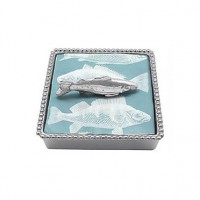 Mariposa Fish Napkin Box