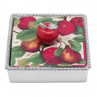 Mariposa Red Apple Napkin Box