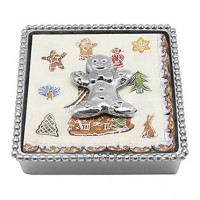 Mariposa Gingerbread Man Napkin Box