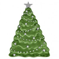 Mariposa Christmas Tree Server - Green