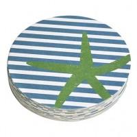 Mariposa Starfish Coaster Refills - Pack of 12