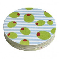 Mariposa Olives Coaster Refills - Pack of 12