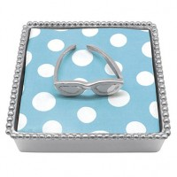 Mariposa Beaded Sunglasses Napkin Box