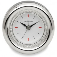 Reed & Barton Silverplate Lyndon Desk Clock