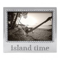 "Mariposa ""Island Time"" Statement Frame - 4 x 6"