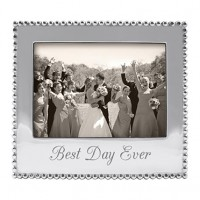"Mariposa ""Best Day Ever"" Picture Frame - 5 x 7"