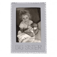 "Mariposa ""Big Sister"" Vertical Statement Frame - 5 x 7"