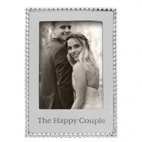 "Mariposa ""The Happy Couple"" Vertical Statement Frame - 5 x 7"